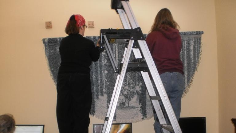 Marie and Betsy hanging IIIII.still.IIIII